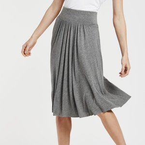 Kit & Ace Ruffled Feathers Casual Swingy Skirt